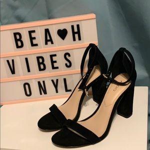 Aldo opened toe heels size 6.5
